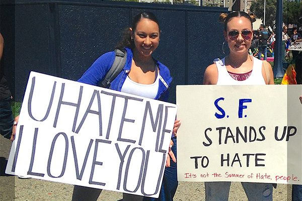 Signs of Our Times: San Francisco Peace Rally Expresses How Most Americans Feel