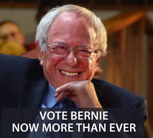 Vote Bernie Now More Than Ever