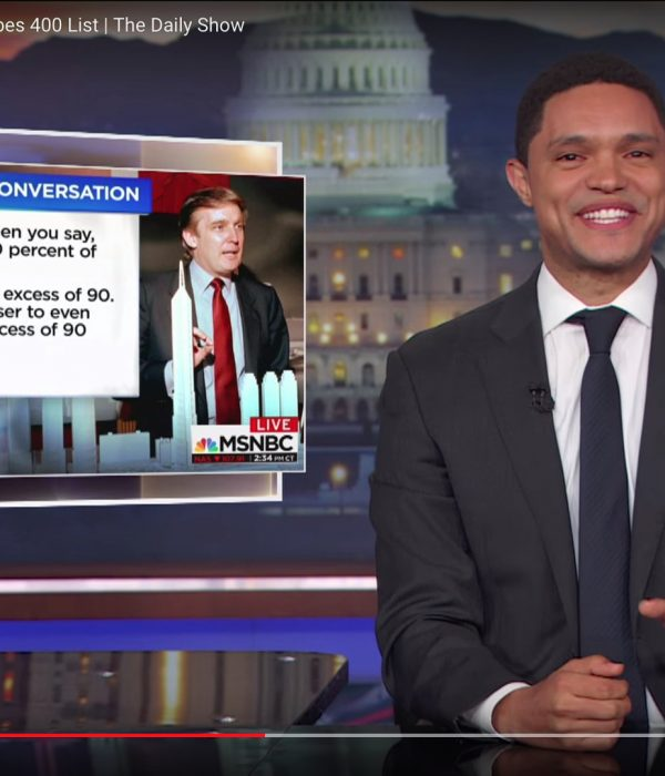 Jonathan story on Daily Show with Trevor Noah