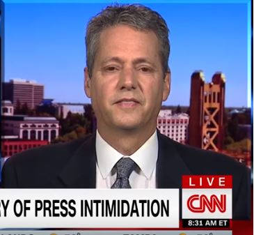 CNN New Day interview on Trump's history of press intimidation